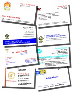 Primiun Bussiness cards
